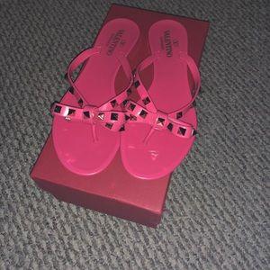 Authentic pink Valentino sandals